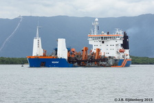 TSHD Lelystad finished dredging in Piaçaguera Channel